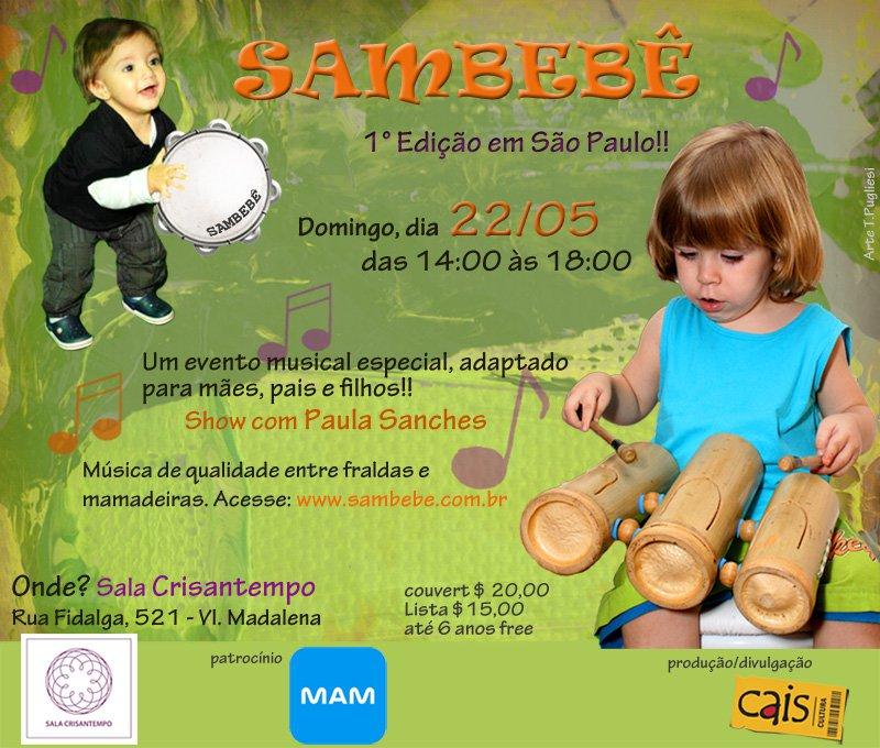 1 edição do Sambebê SP